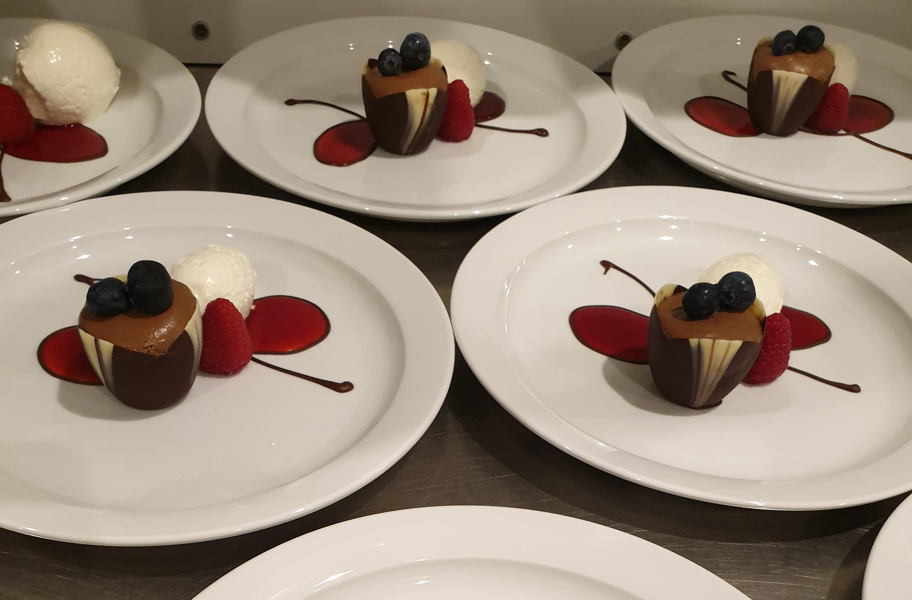 Private dinner - Catering Briquetiers